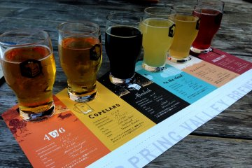 Craft Beer at Spring Valley Brewery