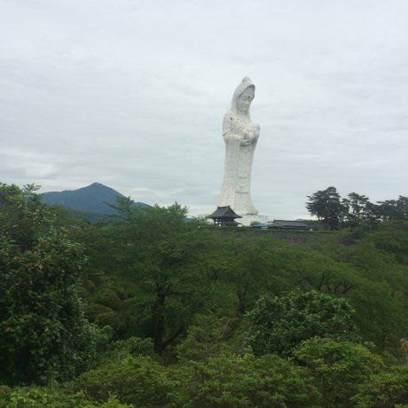 Giant Buddha Statue in Fukushima