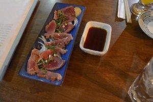 Sashimi de sanglier !