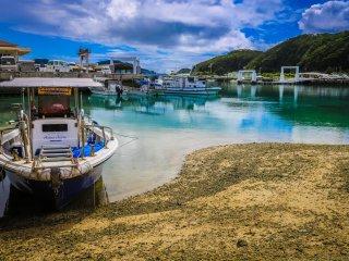 Bến cảng Zamami