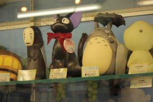 Figuras de colección del estudio de Ghibli.