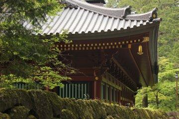 Una parte del templo principal, Toshogu.
