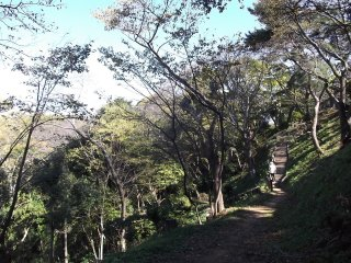 Not all the paths and steps are so steep