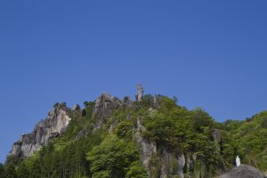 Rocky formations in KunisakiPeninsula