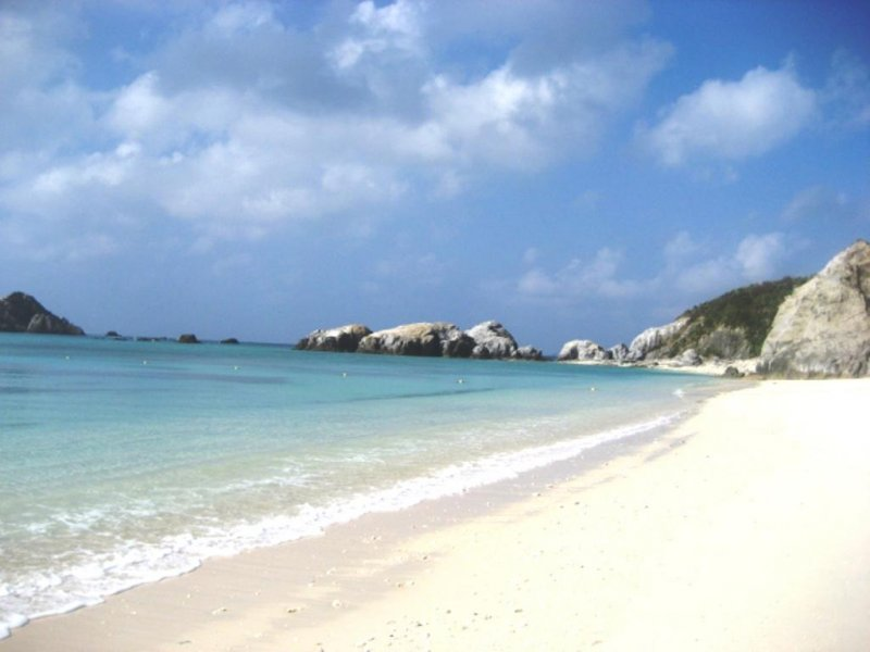 Everything here runs island time, so slow down, relax, and breathe in the fresh sea air of Aharen Beach.