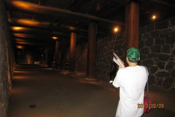 The underground passage