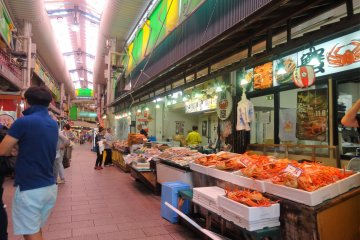 There are nearly 200 shops in the marketplace