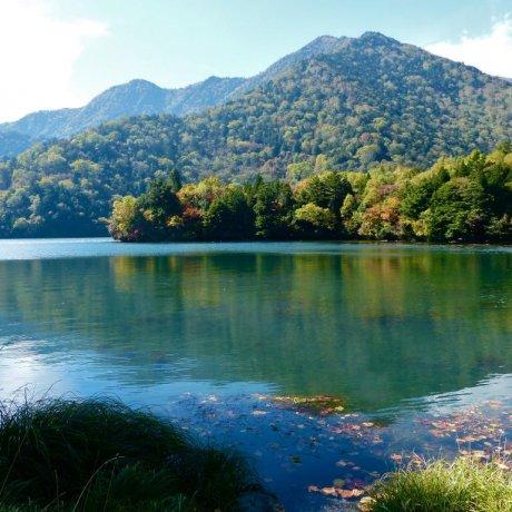 Nikko's Yunoko Lake in Autumn