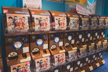 One Piece gachapons!
