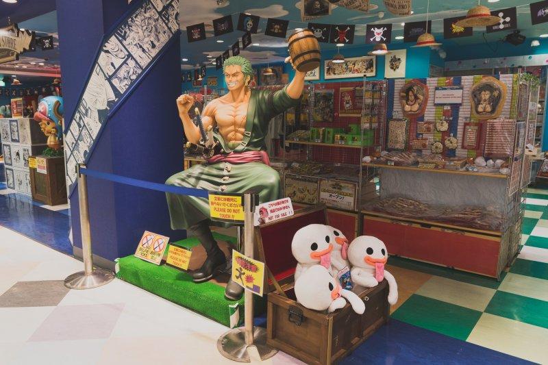 One Piece Mugiwara Store in Tokyo - Shibuya, Tokyo - Japan Travel