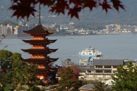 广岛 宫岛的秋天