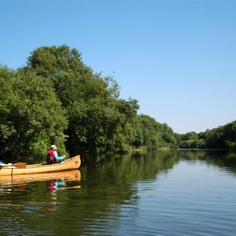 Canoeing the Tombetsu River