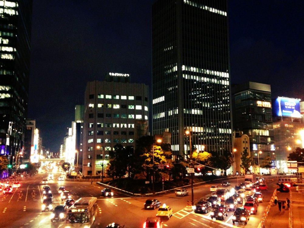 منطقة أوميدا في قلب أوساكا