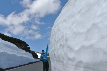 The Snow Walls of Mt Norikura