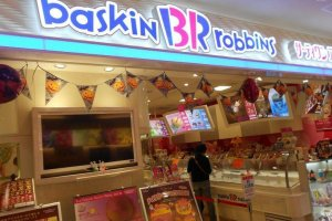 Keep an eye out for buy one get one free scoops at Baskin Robbins.