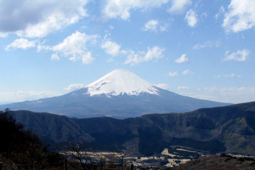 Panorama of Fuji San