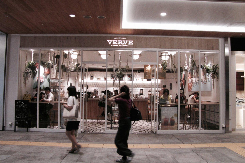 Verve Coffee Roasters на станции Синдзюку