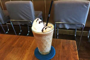 Nothing beats a blended coffee on a hot day!