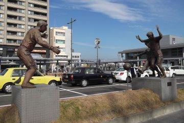 ศิลปะข้างถนนในชิมิซุ