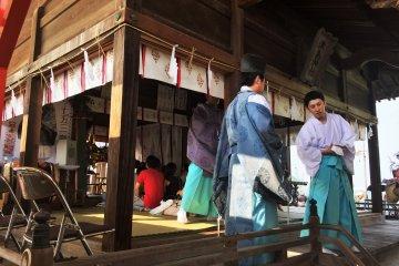 Le Festival de Tsushima no Miya