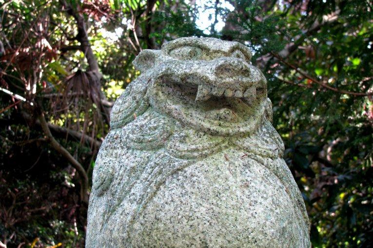Komainu Lion-like Statues