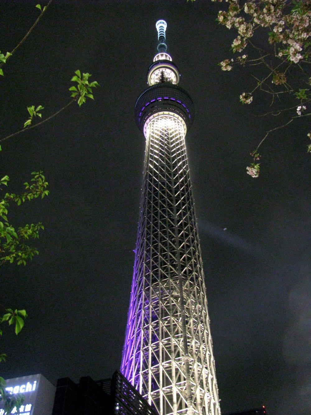 Iluminasi di Skytree