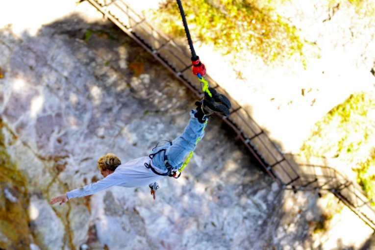 Bungee Jumping and Autumn Leaves