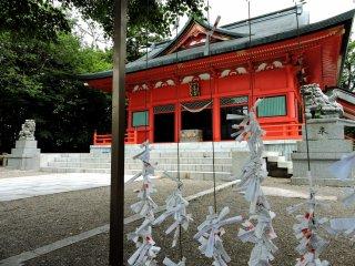 Chính điện của Đền Akagi