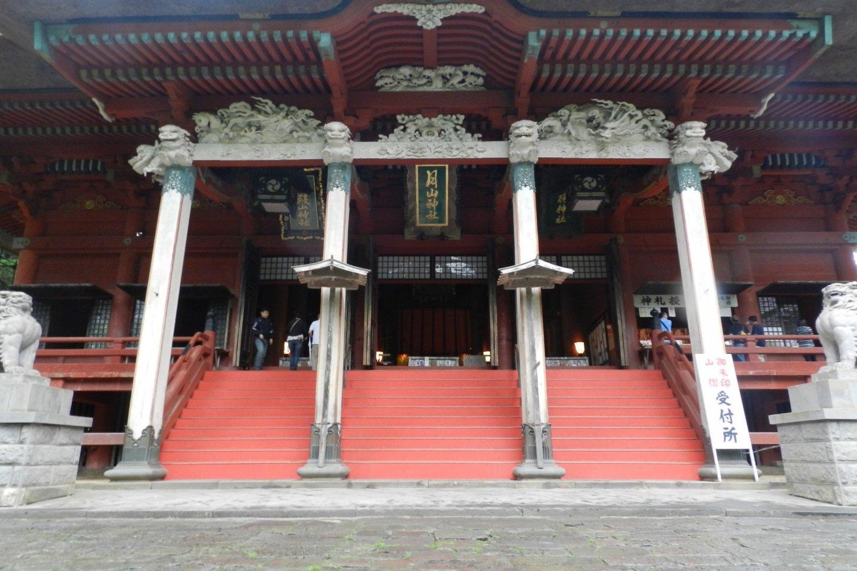 羽黒山頂上の三神合祭殿