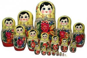 The most popular Matryoshka of Semyonov