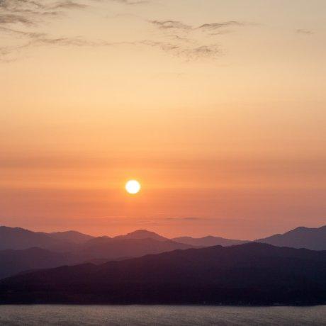 Sunset over Hakodate