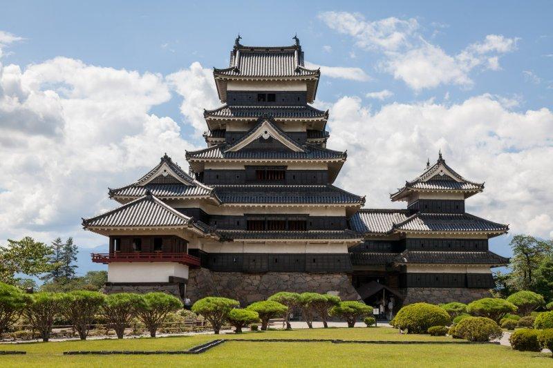 Величественный Замок Мацумото