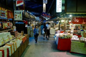 Kuroshio market has more than 15 food stands