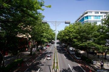ถนน Omotesando