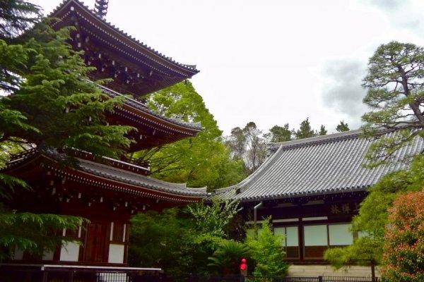 東禅寺境内