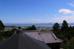 Une belle vue depuis Nanzenbo
