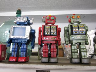 """Antique"" robots!"