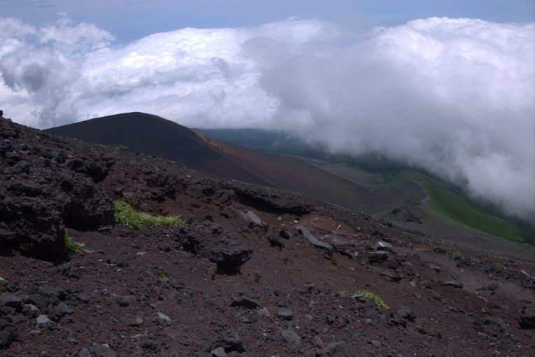 Jalur Fujinomiya di Gunung Fuji