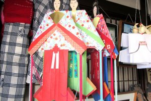 Traditional Tanabata dolls