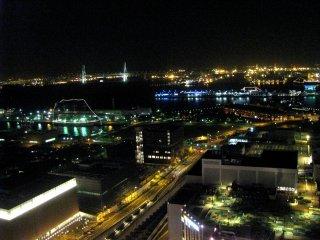 Water front of Yokohama