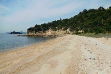 White sand of Naoshima