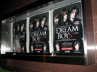 "I watched watched ""Dream Boys"" in the Imperial Theatre of Tokyo"
