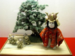 Japanese section of the Doll Museum of Yokohama