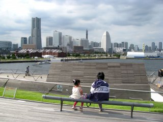 Clessic view of Yokohama