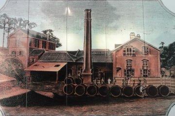 재팬 브루워리 설립당신의 요코하마 야마테공장(1885년경)