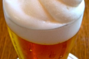 ふわふわの泡が楽しいフローズンビール