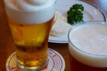 맥주와 스모크치즈