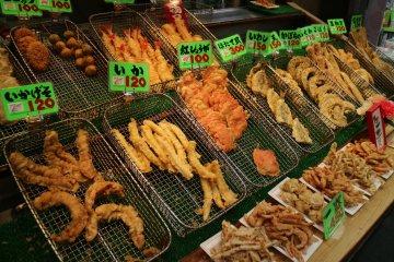 Тэмпура из морепродуктов