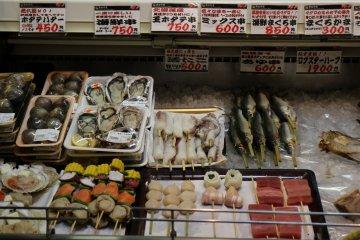 Морепродукты готовы и ждут покупателей