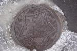 Goryokaku Manhole Cover